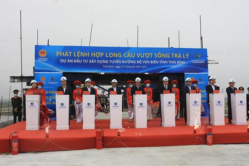 Thái Bình: Khởi công tuyến đường bộ với vốn đầu tư hơn 2.500 tỷ đồng