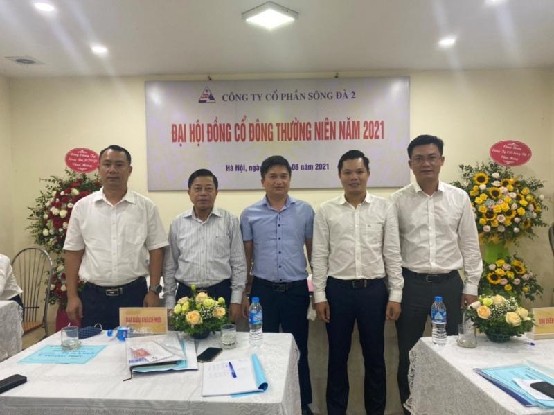 Con trai nguyên Chủ tịch UBND tỉnh Thái Nguyên làm Chủ tịch Sông Đà 2