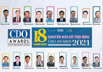vinh danh 18 lanh dao chuyen doi so viet nam tieu bieu nam 2021