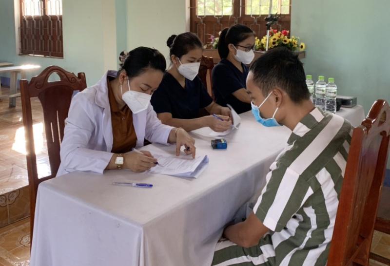 Đà Nẵng tiêm vaccine COVID-19 cho phạm nhân