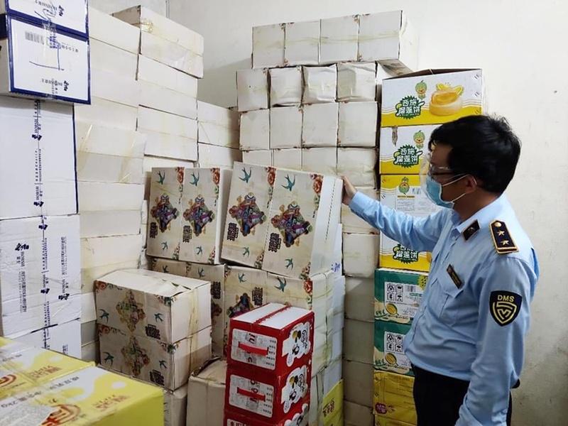 Đà Nẵng: Tạm giữ hàng chục ngàn sản phẩm kẹo, bánh Trung thu nhập lậu