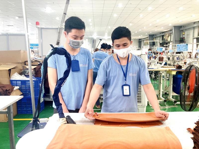 Doanh nghiệp nỗ lực sản xuất  hiệu quả, phòng dịch covid-19 an toàn