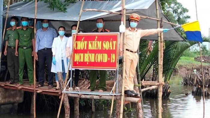 Vĩnh Phúc: Huyện Sông Lô thành lập chốt kiểm soát dịch trên đường thủy