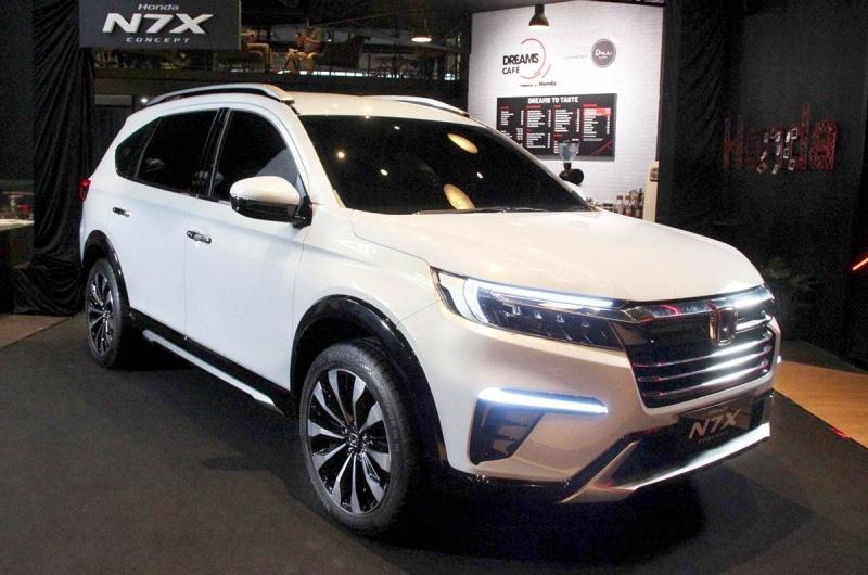 Khám phá Honda N7X: Mẫu SUV trẻ trung và hiện đại