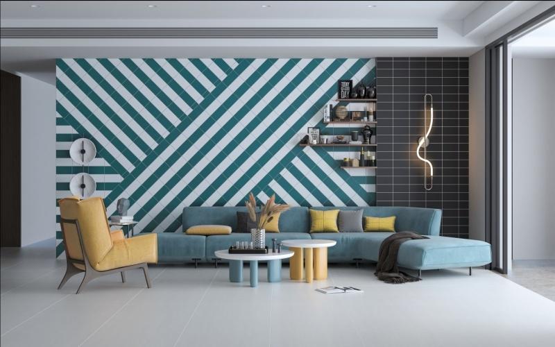 Gạch men gốm colour: Giải pháp trang trí cho gian nhà thêm lộng lẫy