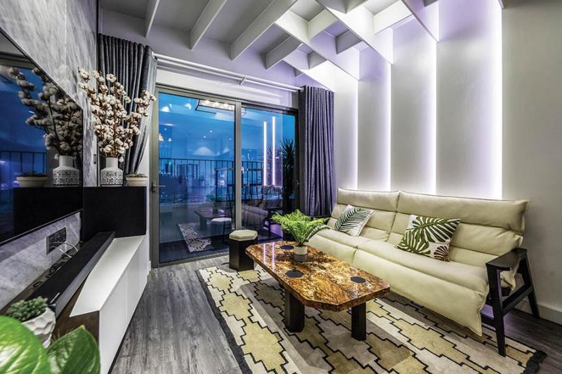 Khám phá căn hộ 50m2 đẹp tinh tế và thoáng đãng