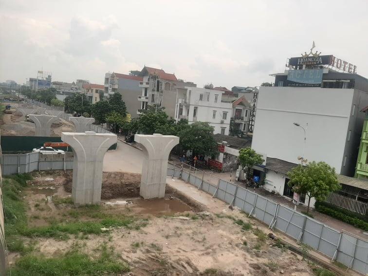 Cầu Vĩnh Tuy 2 thế nào sau thời gian tranh thủ thi công trong giãn cách?