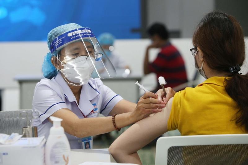 Vĩnh Phúc: Gần 20% dân số trên 18 tuổi đã được tiêm vaccine phòng Covid-19