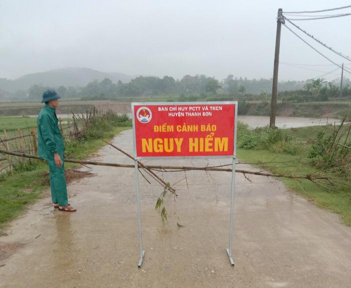 Phú Thọ: Huyện Thanh Sơn thiệt hại gần 2 tỷ đồng do mưa dông