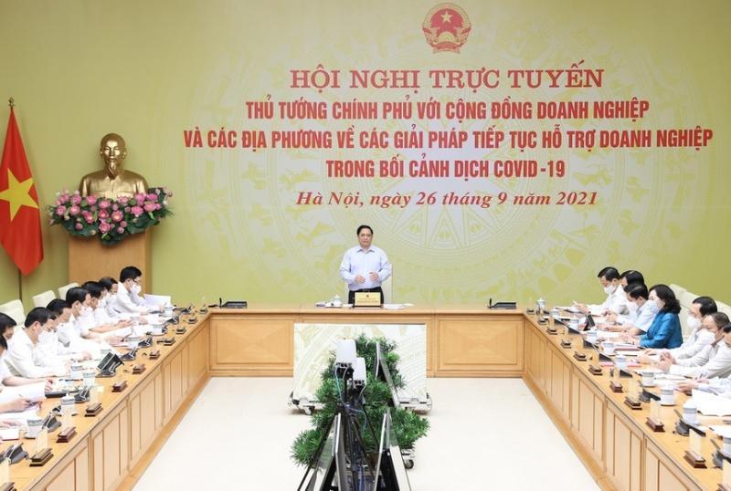 thu tuong pham minh chinh doi thoai voi doanh nghiep dia phuong
