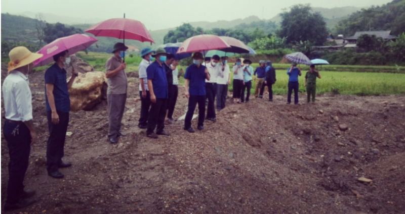 Sơn La kiểm tra việc khai thác vàng trái phép trên suối Nậm Hua