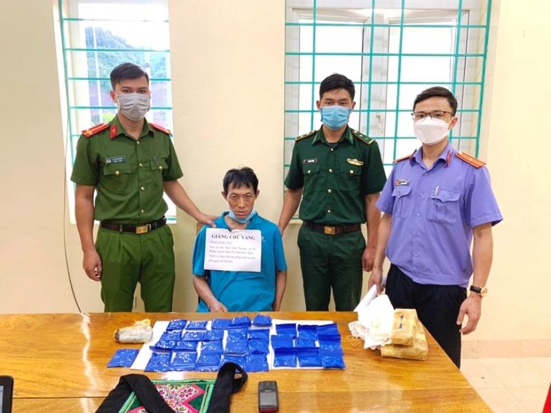 Điện Biên: Bắt một đối tượng tàng trữ 6.000 viên ma túy tổng hợp