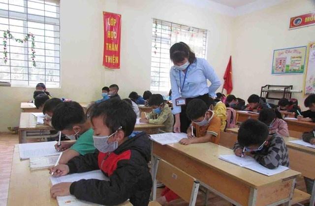 Lai Châu: Dạy tiếng Việt cho học sinh dân tộc thiểu số