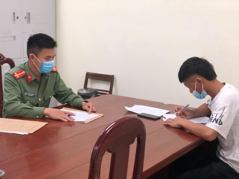 Điện Biên: Phạt 7,5 triệu đồng thanh niên lên Tik Tok bôi nhọ lực lượng Công an