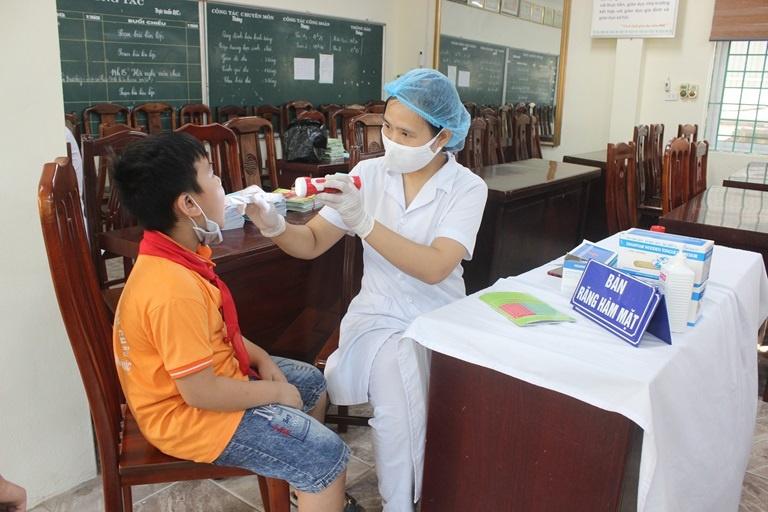 Vĩnh Phúc: Chăm sóc sức khỏe học đường trong tình hình mới