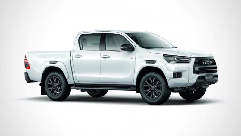 Ra mắt Toyota Hilux GR Sport 2022, giá bán 870 triệu đồng