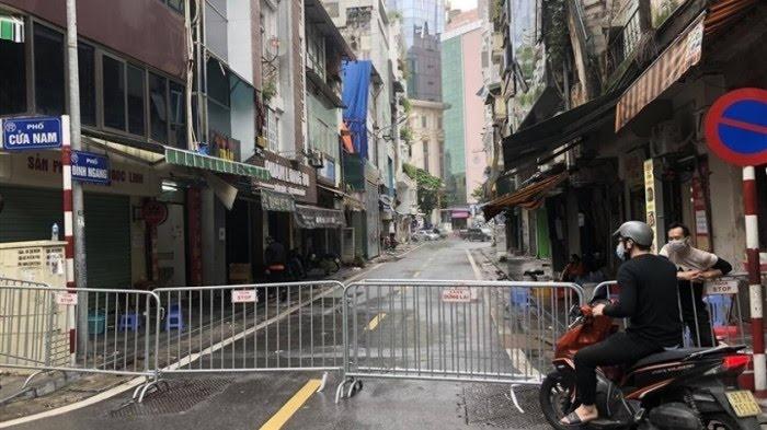 Hà Nội: Xác định 9 F1 liên quan đến ca dương tính tại phố Đình Ngang