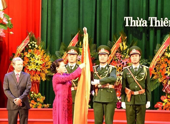 Thừa Thiên - Huế kỷ niệm 30 năm ngày tái lập tỉnh và đón nhận Huân chương Độc lập hạng Nhất