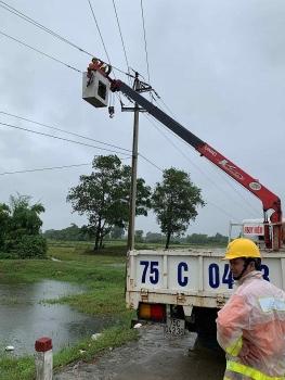 PC Thừa Thiên Huế: Tập trung khắc phục sự cố sau mưa lũ