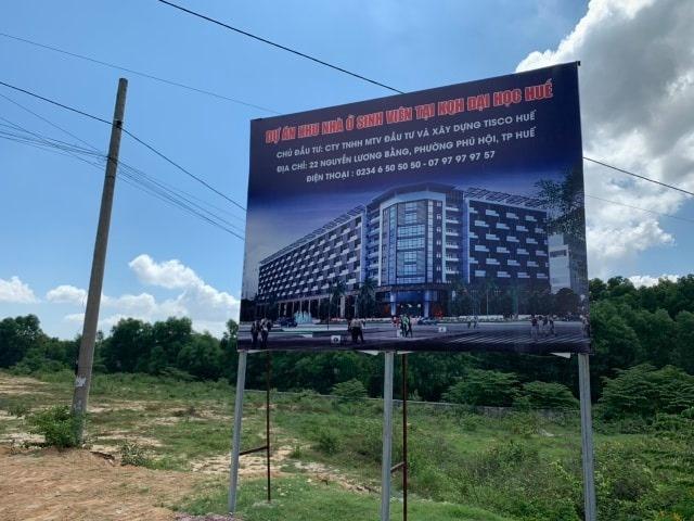Thừa Thiên Huế:  Vội vàng khi thu hồi dự án Khu nhà ở sinh viên?
