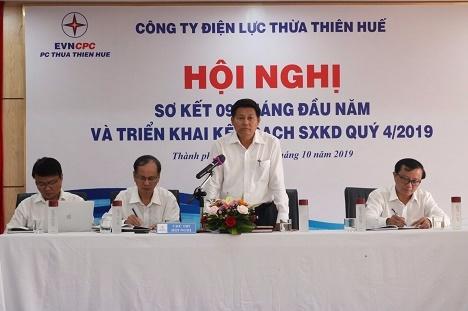 PC Thừa Thiên Huế: Hoàn thành xuất sắc nhiệm vụ trong 9 tháng đầu năm