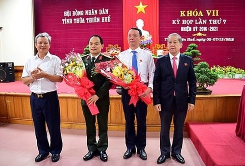 Ông Phan Thiên Định làm Phó Chủ tịch UBND tỉnh Thừa Thiên - Huế