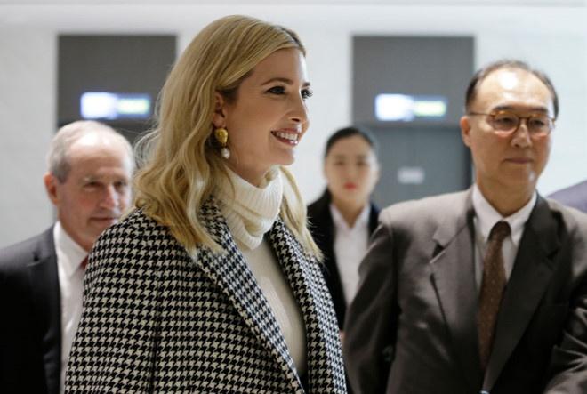 Thông điệp từ chuyến thăm Hàn Quốc của Ivanka Trump