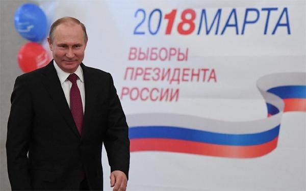 Kết quả sơ bộ bầu cử Nga: Putin chiến thắng áp đảo