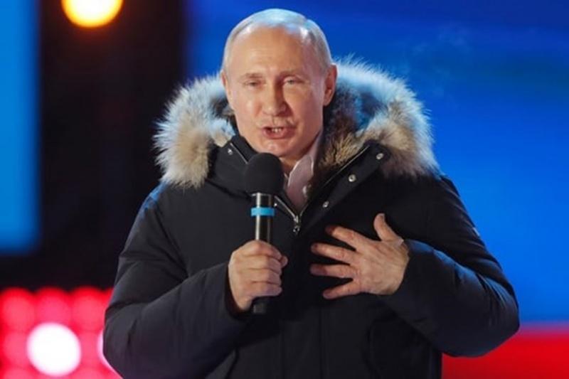 """V. Putin: """"Nước Nga sẽ thay đổi sau khi tôi nhậm chức"""""""