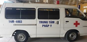 hai phong phat hien lai xe oto dan chu trung tam phap y vi pham nong do con
