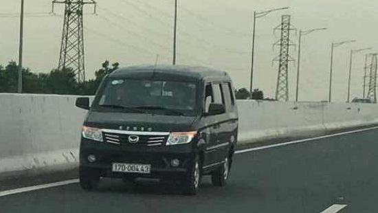 Xử phạt một tài xế ô tô chạy ngược chiều trên cao tốc Hà Nội - Hải Phòng