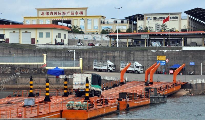 Quảng Ninh: Thông quan trở lại cầu phao tạm Km3+4 trên sông Ka Long