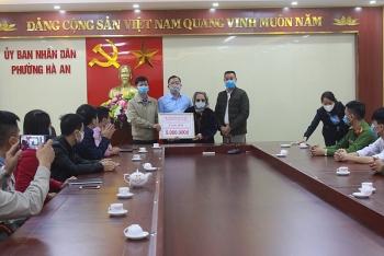 Mẹ Việt Nam Anh hùng 90 tuổi ở Quảng Ninh ủng hộ 5 triệu đồng chống dịch