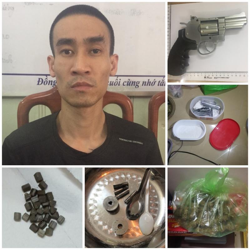 Hải Phòng: Triệt phá điểm sản xuất ma túy, thu giữ 1 khẩu súng