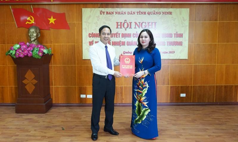 Quảng Ninh: Trao quyết định bổ nhiệm nhiều lãnh đạo cấp Sở