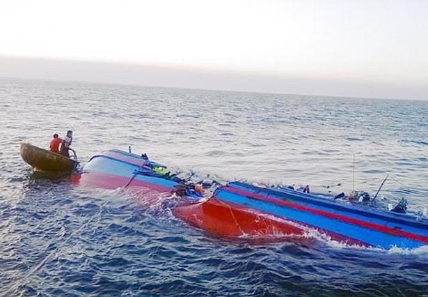 Quảng Ninh: 3 ngư dân mất tích trên vùng biển Cô Tô