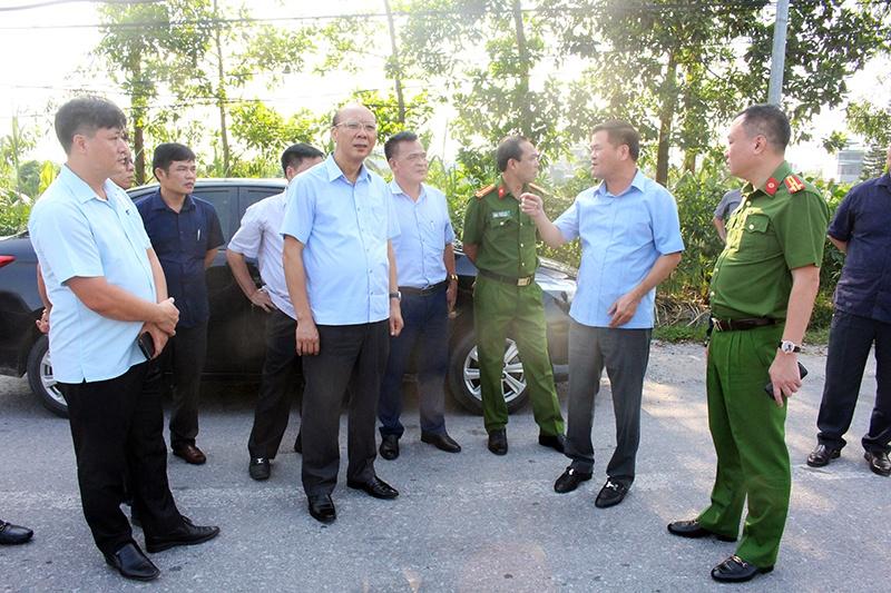 Quảng Ninh cấm xe tải 4 trục trở lên di chuyển vào trung tâm Thị xã Quảng Yên