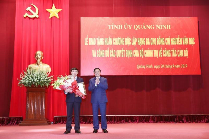 Bộ Chính trị chuẩn y chức vụ Bí thư Tỉnh ủy Quảng Ninh