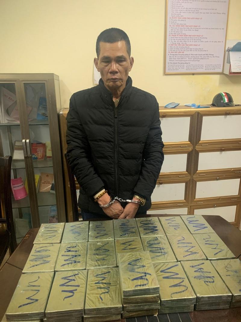 Hải Phòng: Bắt giữ nhóm đối tượng vận chuyển số lượng lớn heroin