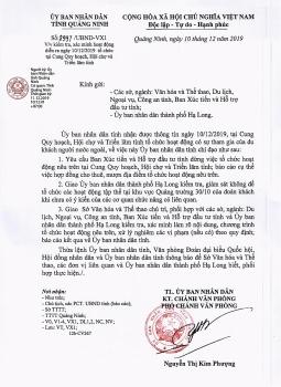 Quảng Ninh: Xác minh việc tổ chức hoạt động có sự tham gia của người nước ngoài tại Cung Quy hoạch, Hội chợ và Triển lãm tỉnh