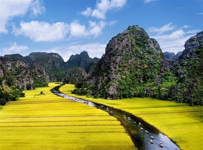 Khu du lịch Tràng An luôn chú trọng công tác bảo vệ môi trường