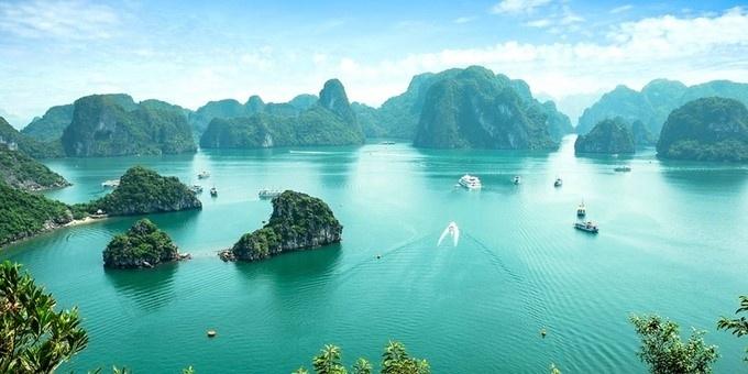 Vịnh Hạ Long top 25 điểm du lịch đẹp nhất thế giới