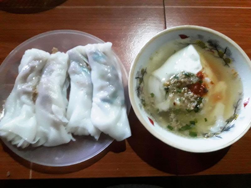 Bánh cuốn: món ăn sáng truyền thống của người Cao Bằng