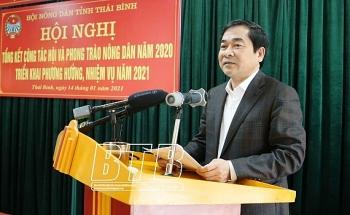 hoi nong dan tinh thai binh nam 2020 co 42 tap the va ca nhan duoc khen thuong