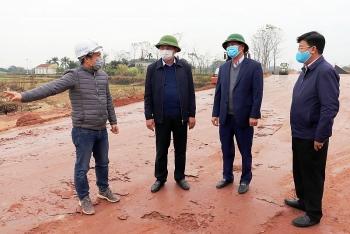 quang ninh day nhanh tien do thi cong dam bao hoan thanh cao toc van don mong cai trong nam 2021