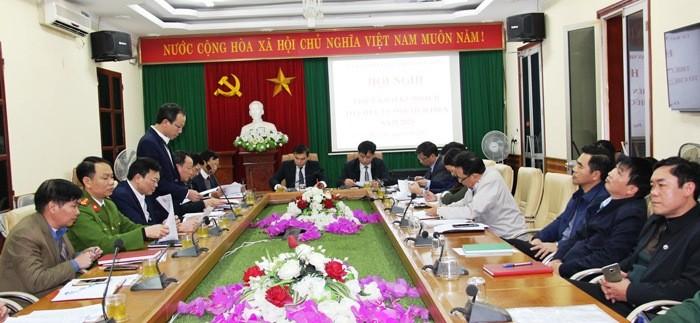 Hà Nam: Hội nghị triển khai kế hoạch tổ chức lễ hội Tịch điền Đọi Sơn năm 2021