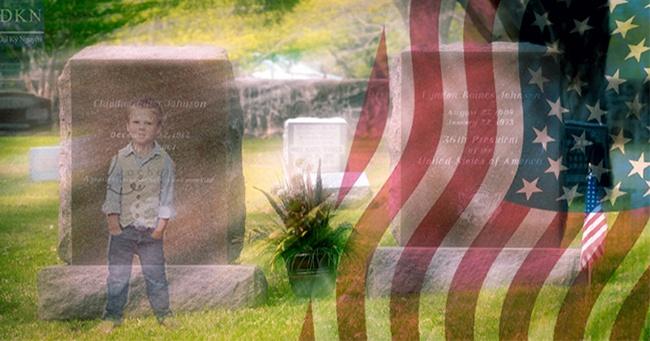 Ngôi mộ hàng xóm của Tổng thống Mỹ và câu chuyện thức tỉnh thế giới