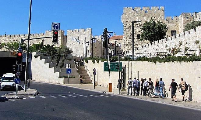 thanh dia jerusalem