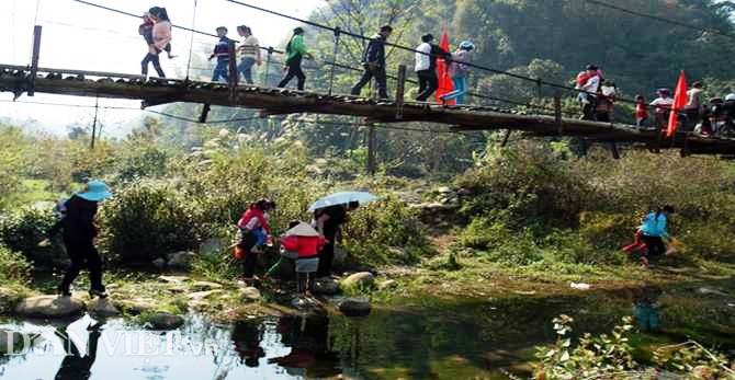 Ước mơ về chiếc cầu ở Đản Ván - Hoàng Su Phì (Hà Giang)