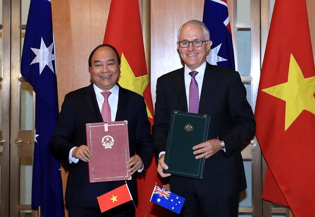 Tuyên bố chung về hợp tác giữa Việt Nam - Australia